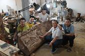 木雕版的清明上河图