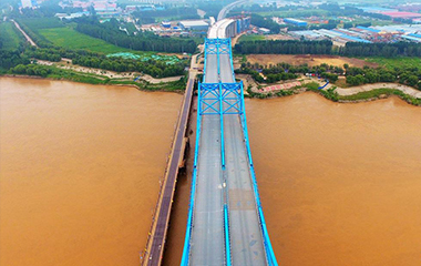济南首条跨黄河公铁石济高铁静态验收