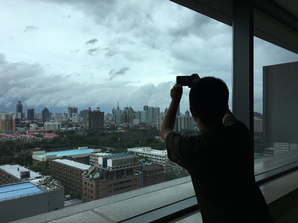 """台风""""摩羯""""走啦!暴雨后的泉城颜值刷屏美出新高度"""