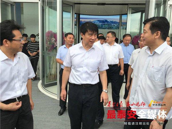崔洪刚与中信泰富特钢负责同志交流思想