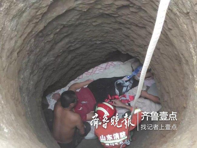 阴雨连绵,潍坊一女子脚下打滑不慎坠入六米深姜井