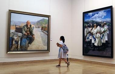 改革开放40年山东美术发展成果展在京举办