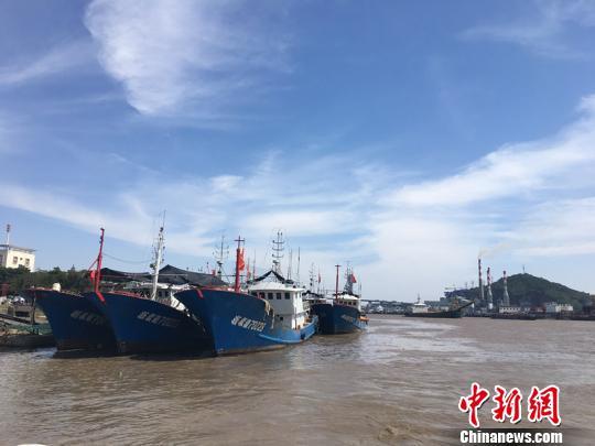 甬舟两地发布Ⅱ级防台警报 浙江沿海大部分航线停航