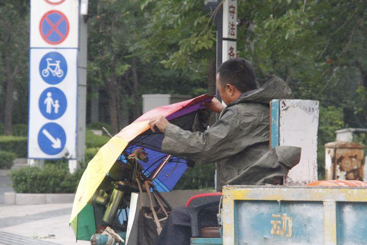 """狂风肆虐 五年来最""""猛""""台风持续影响东营"""
