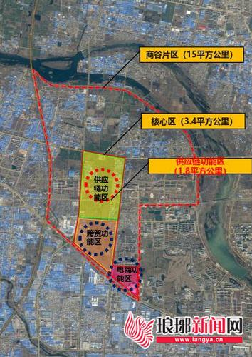 临沂商谷核心区规划出炉 3年打造三个功能区