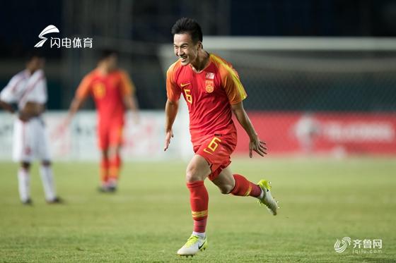 亚运-姚均晟神仙球 U23国足2-1阿联酋小组第1出线
