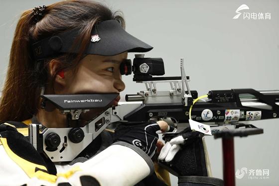 第十金!亚运会女子10米气步枪赵若竹夺得冠军
