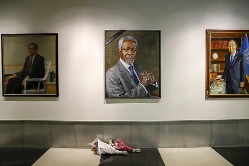 外媒悼念安南:他是一代联合国官员的精神导师