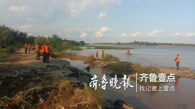 寿光境内弥河水位暴涨,两辅警救人途中不幸落水失踪