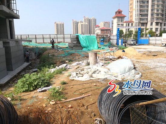 扬尘治理不达标 烟台市区6个工程项目被停工整改