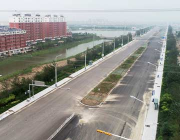 【交通主动脉 城市景观带】滨州北海孔融大街有望10月通车