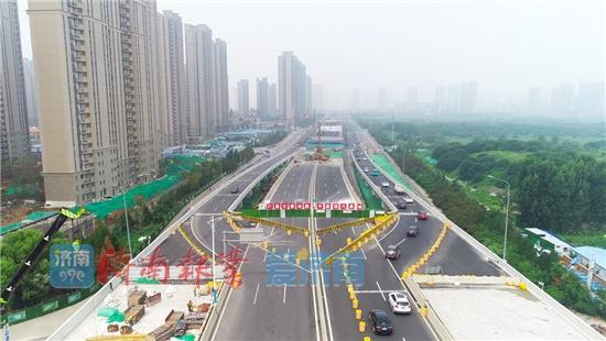 北园高架西延直通京台高速,将增设一处收费站