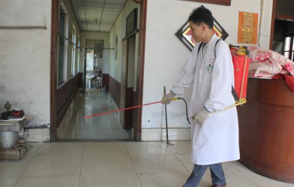 潍坊市启动自然灾害卫生应急响应,灾区开展消毒防疫