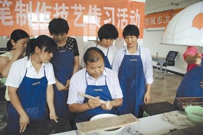 河南汝阳刘毛笔:历经上百代传承,在坚持和创新中重生