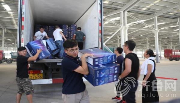 圣泉集团向寿光灾区捐赠30万现金及价值千万石墨烯家纺产品