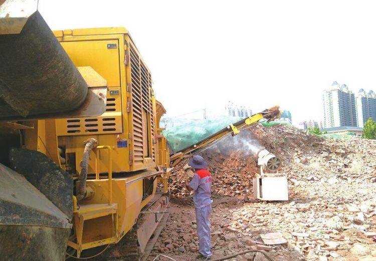 济南每年产生约3000万方建筑垃圾,有人从中发现商机