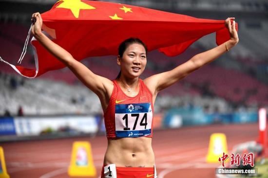 王春雨夺女子800米冠军 中国田径一日收获4金