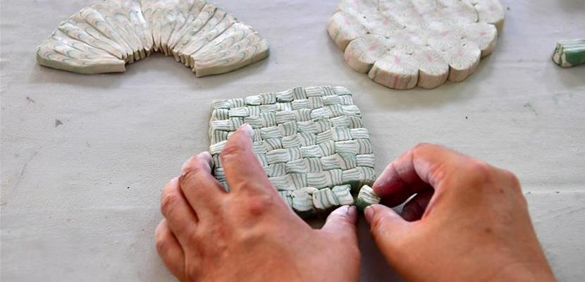 """绞胎瓷:""""编织""""出来的瓷器"""