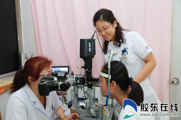 暑期烟台医院眼科现扎堆潮 学生弱视呈低龄高发化