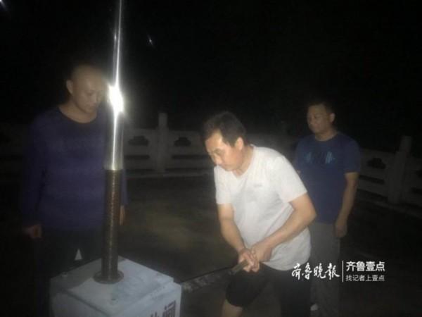 济南市水库塘坝蓄水达2.2亿,锦绣川水库提闸泄洪