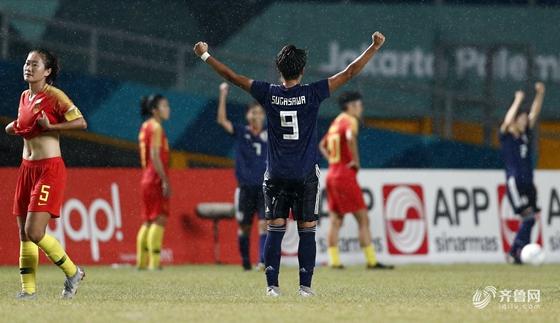 亚运-90分钟遭绝杀 中国女足0-1负日本摘银