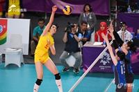 朱婷18分中国女排3-0完胜日本 决赛将与泰国争冠