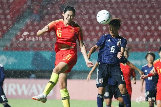 遗憾!亚运会中国女足0-1日本摘银