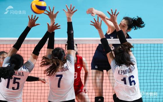 朱婷26分中国女排3-0泰国时隔8年再夺亚运冠军_综合体育_体育_齐鲁网