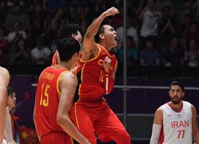 我们是冠军! 中国男篮胜伊朗夺亚运金牌