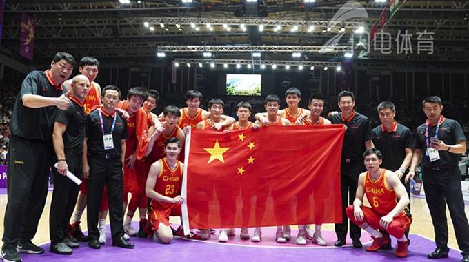 阿不都20+6 中国男篮84-72大胜伊朗夺亚运冠军