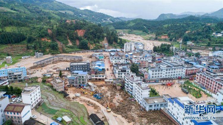 云南麻栗坡洪涝灾害救援工作有序进行