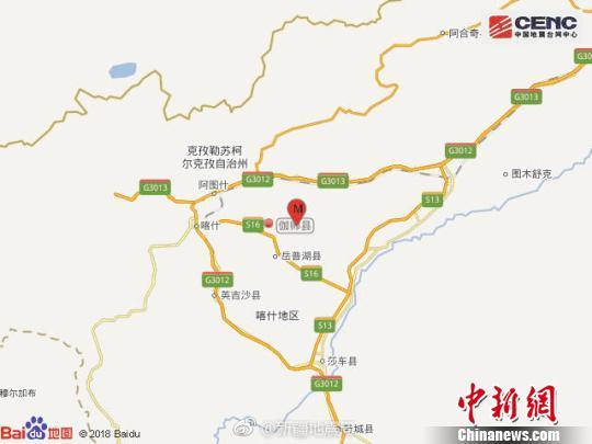 新疆伽师清晨发生5.5级地震 居民睡梦中被摇醒