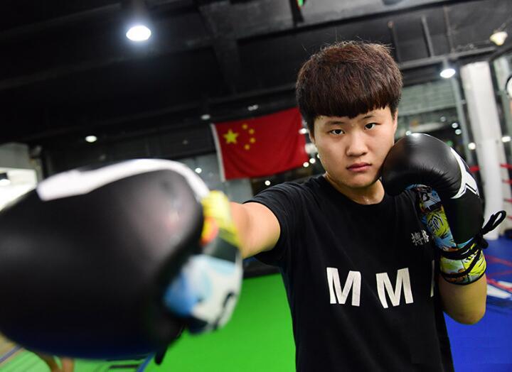 【新青年】青岛95后女拳王:亚洲最能打的姑娘