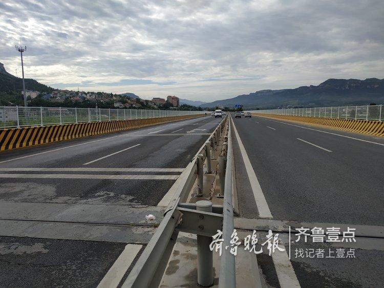 济南仲宫大桥维修完毕,去南山畅通了!