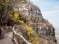 进山道路升级改造 游客到淄博齐山景区需绕行