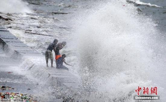 菲律宾正值台风季节 中领馆吁中国游客避免海上活动