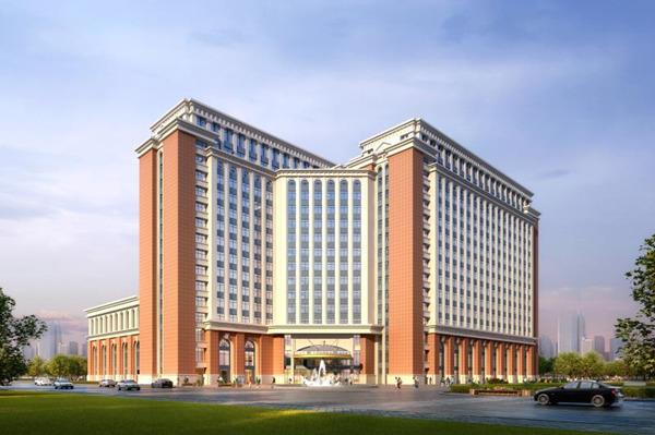 漂亮!济南国际医学科学中心先期智慧医院项目顺利封顶