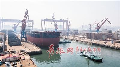 """西海岸新区海洋产业达""""千亿级"""" 打造世界一流海洋港口"""