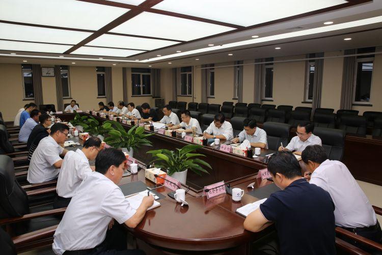 东营港经济开发区召开工作务虚会
