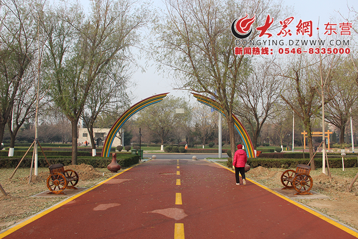 广饶:着力打造城市慢行系统 开启花香诗意新生活
