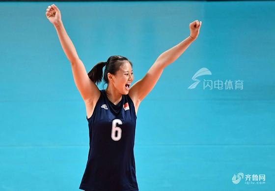 龚翔宇26分中国女排3-1克波兰 瑞士赛第5收官