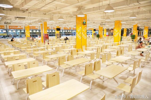 青岛高校食堂的颜值担当:吃泡面前都得要先拍照
