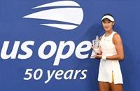 17岁小花夺美网青少年女单冠军 成中国女网历史第一人