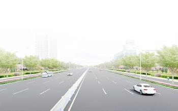 淄博中心城区柳泉路城区段11日开始验收