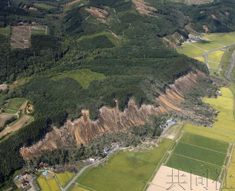 专家称日本北海道厚真町附近可能存在新的活断层