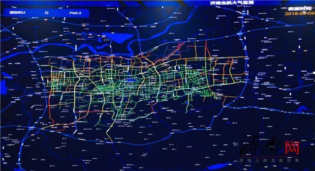 """有奖有罚!济南利用道路走航监测系统分路段考核""""气质"""""""