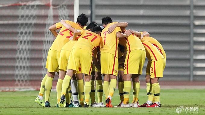 2018国际足球友谊赛:巴林0-0中国男足