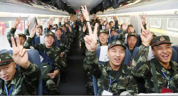 今年烟台共征兵2180人 首批672名新兵奔赴军营