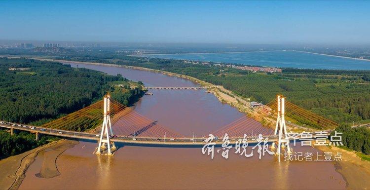 今年36岁的济南黄河大桥,依然很拉风