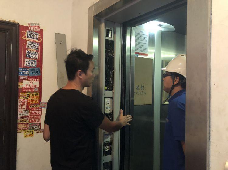 """电梯急坠还""""咬人"""" 东营一电梯故障频发吓坏业主"""